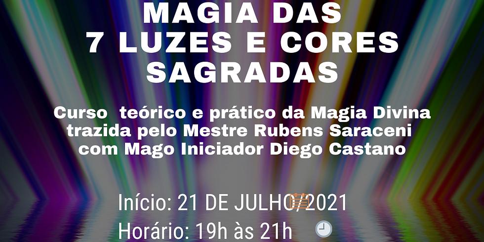 Curso de Magia das 7 Luzes e Cores Sagradas