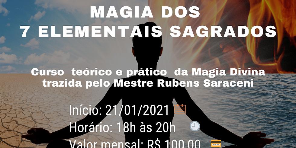 Magia dos 7 Elementais Sagrados