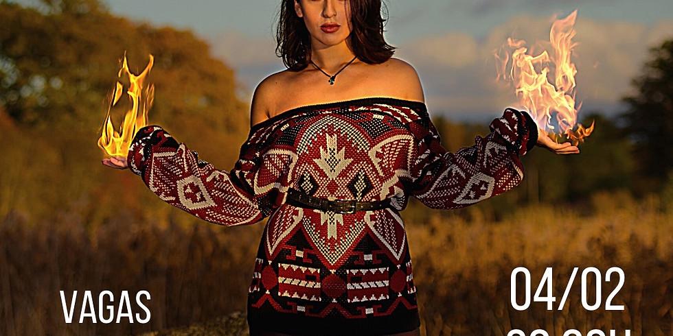 Magia das 7 Chamas Sagradas - Santana
