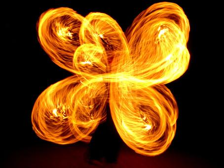 O fogo que queima todo mal!