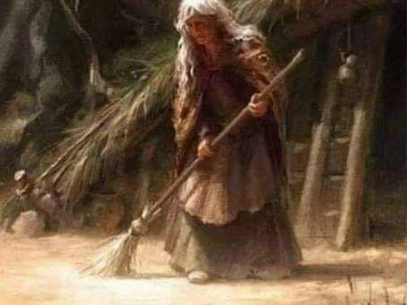 Uma velha em meu caminho...