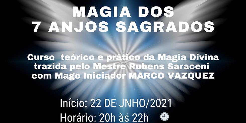 Curso de Magia dos 7 Anjos Sagrados