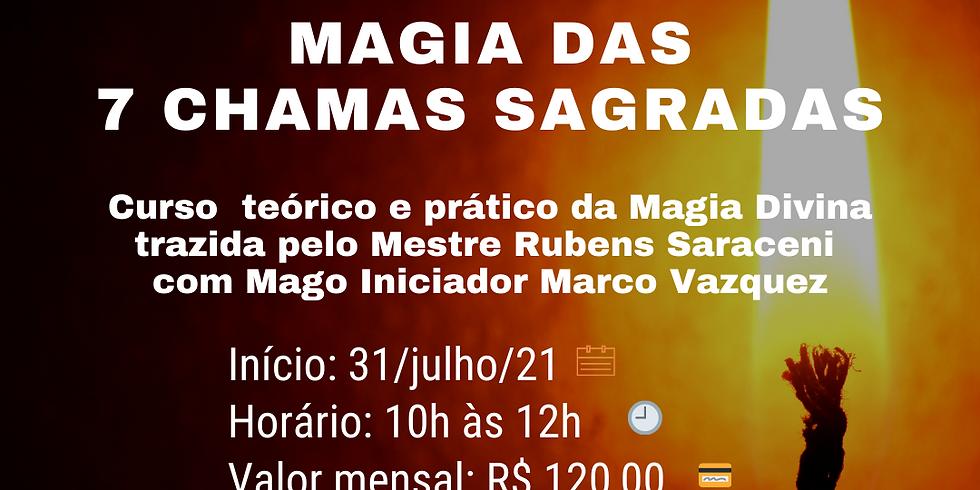 Magia das 7 Chamas Sagradas