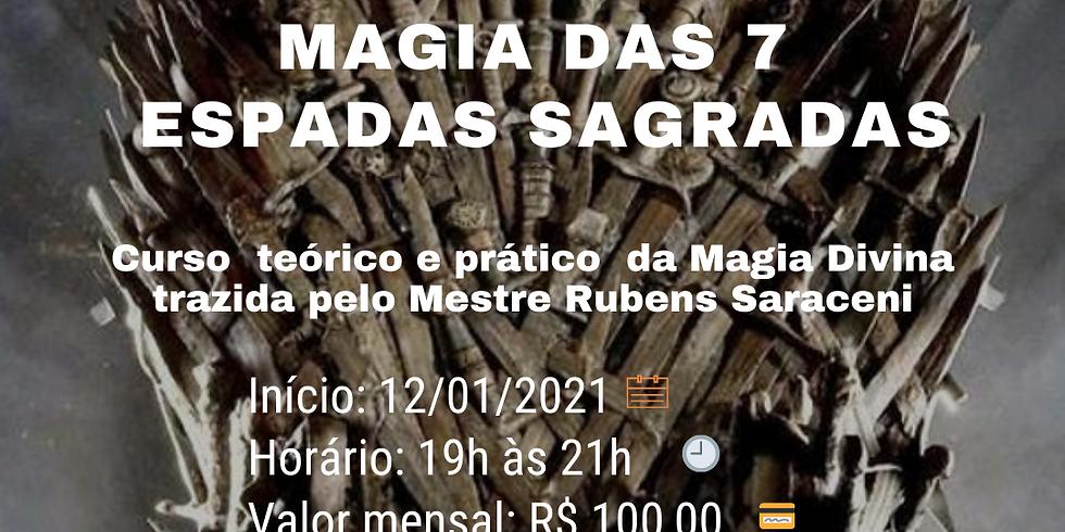 Magia das 7 Espadas Sagradas