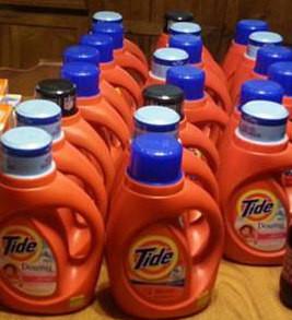 Tide detergent at Walgreens