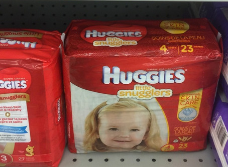 Oh Baby! $2.99 Huggies at Publix Beginning 2/6