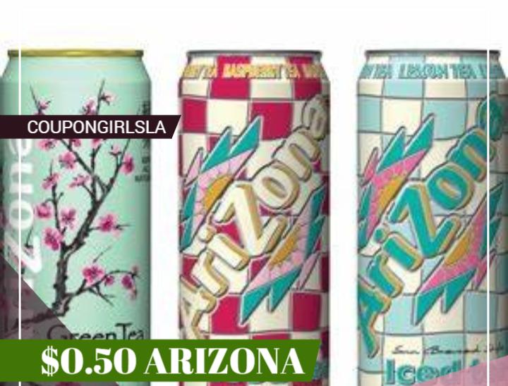 $0.50 Arizona Drinks at Rite-Aid