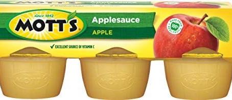 Motts Apple Sauce, only $1.08 at Publix