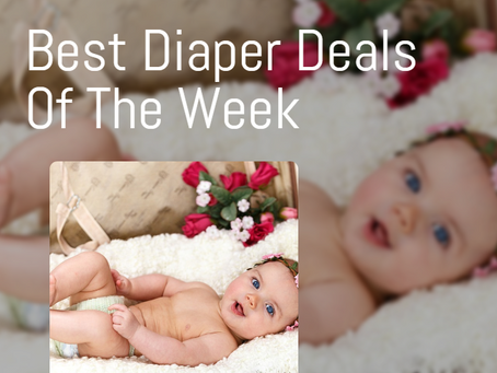 Best Diaper Deals For The Week of 3/15.