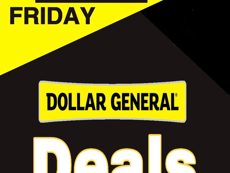 Check Out The Best Dollar General Black Friday Deals!
