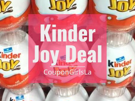 Kinder Joy Eggs only $0.46 at Harris Teeter!