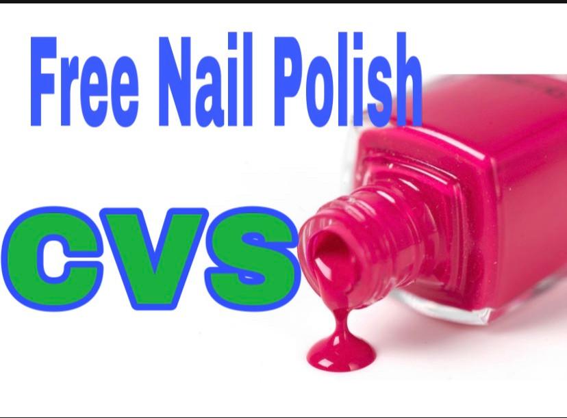 Free Nail polish at CVS