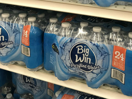 Big Win Purified Water Only $3.00 at Rite-Aid!