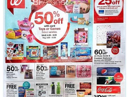 Walgreens 2019 Black Friday Ad Scan!