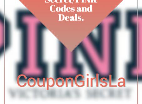 Victoria Secret/PINK Codes and Deals.