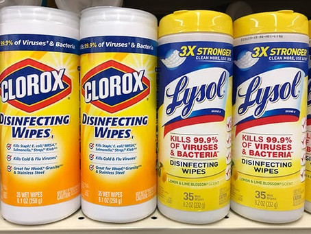 Lysol Disinfecting Wipes BOGO at Walgreens, Beginning 4/5
