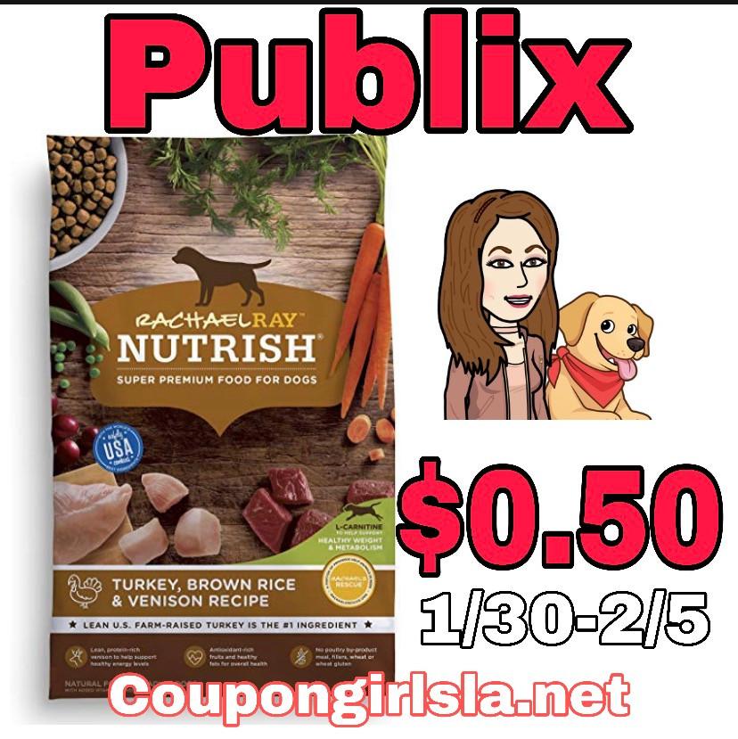Rachael ray Pet Food at Publix