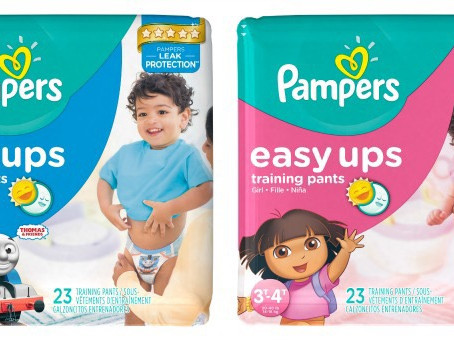Oh, Baby! Easy Ups as low as $2.00 at CVS.