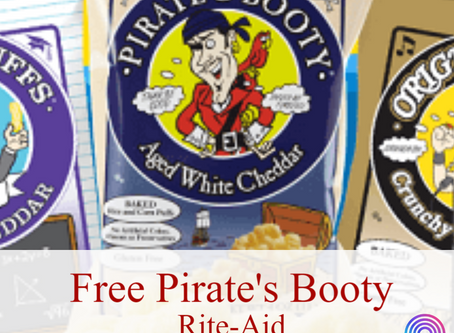 Pay Nothing for Pirate's Booty Snacks at Rite-Aid Beginning 2/23
