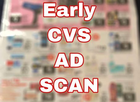 Early CVS Ad Scan, Beginning 3/1