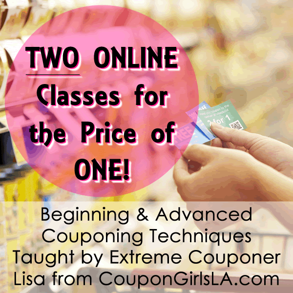 2 online couponing classes for the price of one