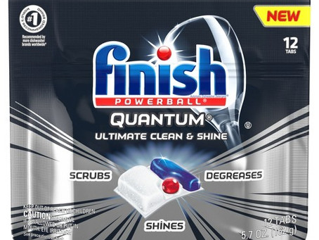 Finish Dish Tabs only $1.50 at Family Dollar!