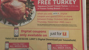 Acme just announced :Free turkey promotion