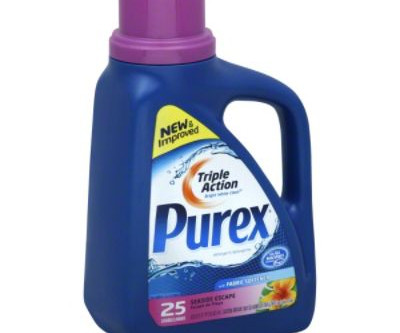 Purex Laundry Detergent, B1g1 Free at Rite-Aid, only $2.50 each.