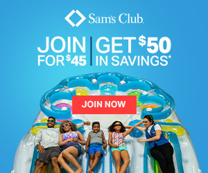 Stop and read this! Get $50 free from Sam's Club when you buy a membership for $45