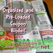 Loaded Coupon Binder