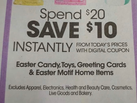 Easter Candy Deals at Kroger, Coming Soon!