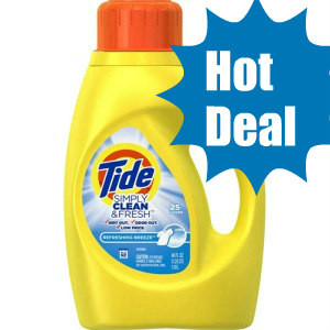 Tide Laundry Detergent, Just $1.99 at Rite- Aid!