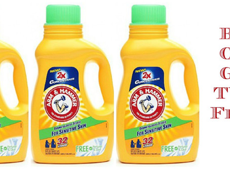 Arm & Hammer Detergent Buy One Get Two Free at Walgreens, Beginning 2/23