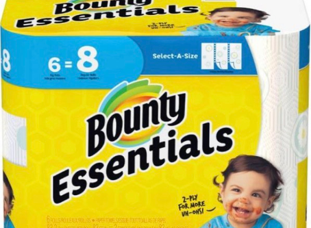 Bounty Paper Towels, only $3.99 at Walgreens.
