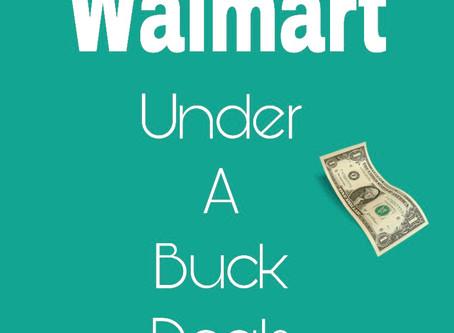 Walmart Deals Under A Buck!