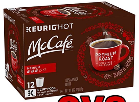 McCafe Coffee, Only $0.24 per K-Cup at CVS