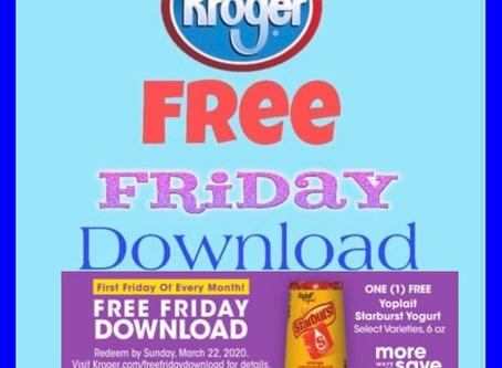 Kroger Friday Freebie: Free, Yoplait Starburst Single Serve Yogurt!