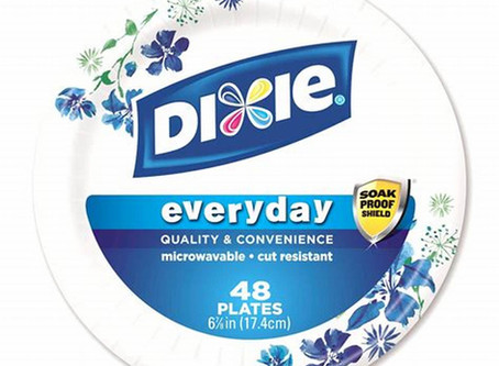 Dixie Paper Plates $0.92 at Dollar General.