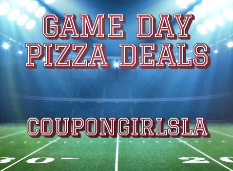 No Cooking Required-Game Day Pizza Deals.
