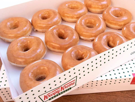 BOGO Krispy Kreme Doughnuts Every Saturday.