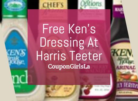 Free Ken's Dressing At Harris Teeter