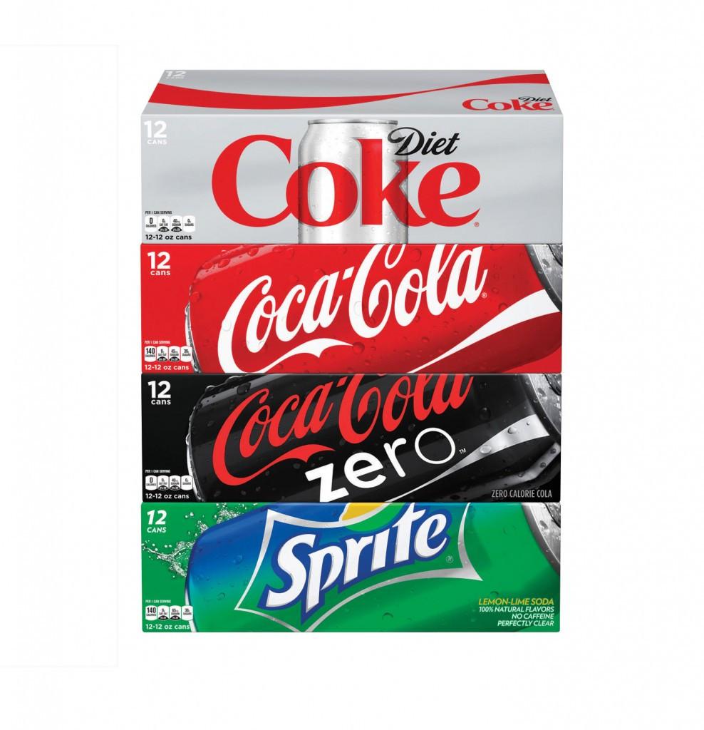Coca Cola Brand soda 12 packs