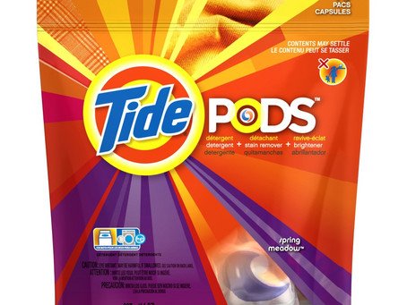 Better-Than-Free Tide Pods at Walmart!