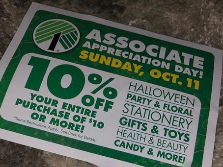 Save 10% at Dollar Tree
