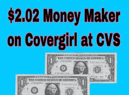 Money Maker Deal on Covergirl at CVS, Beginning 12/16