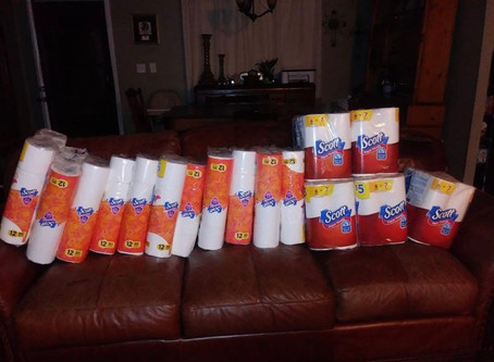 Member Brag! Walgreen's Quilted Northern and Scott Haul