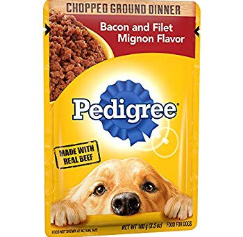 Pedigree Wet Dog Food, Only $0.30 each at Family Dollar.