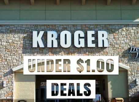 Mega Sale under $1.00 deals at Kroger.