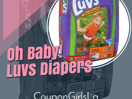Luvs Diapers, only $5.50 at Family Dollar!