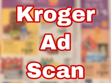 Kroger Early Ad Scan, Beginning 3/18.